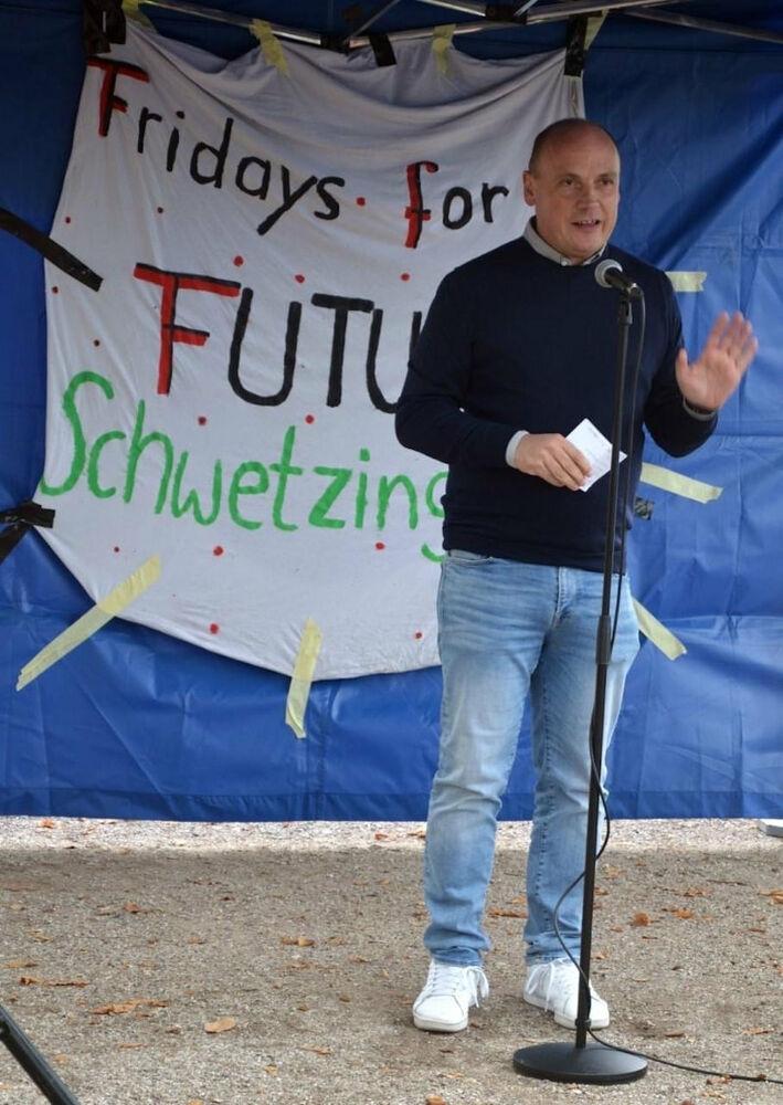 Bei Fridays for Future in Schwetzingen